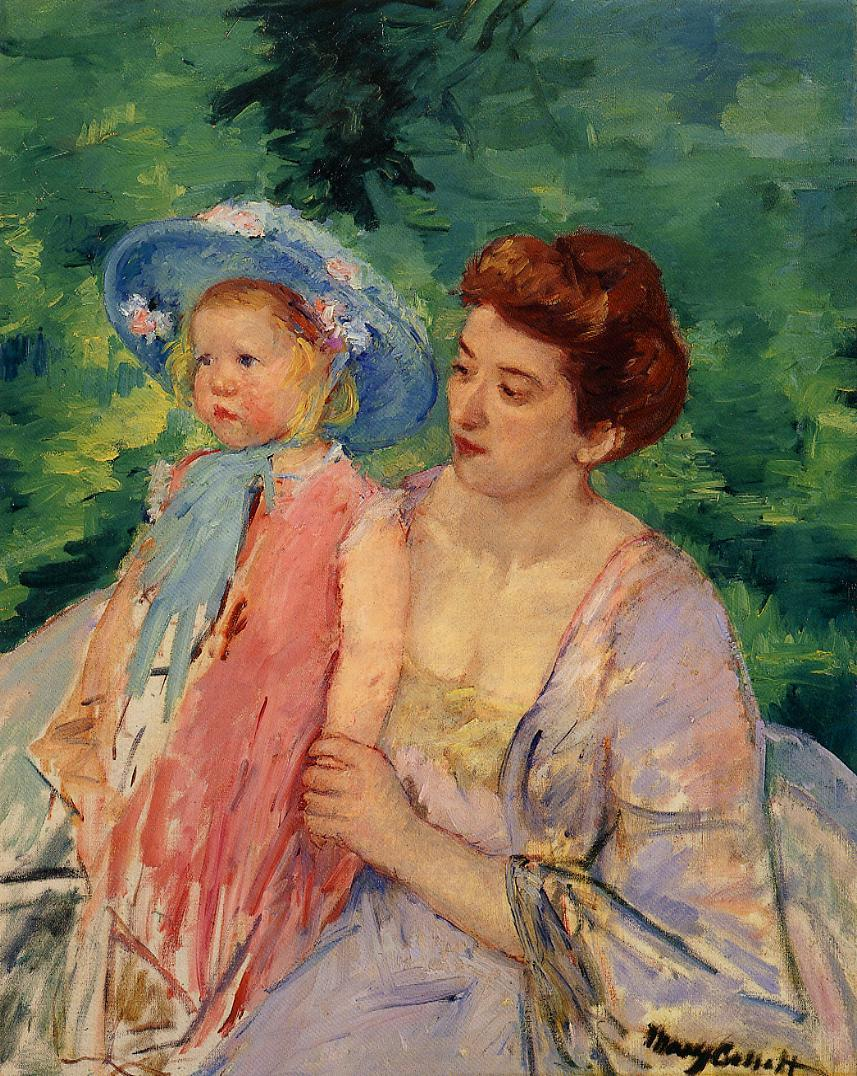 En Bateau Le Bain 1908 | Mary Cassatt | Oil Painting