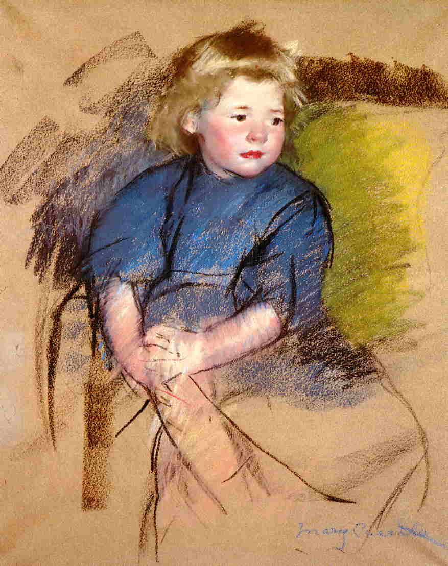 Portrait of a Young Girl (Simone) 1903 | Mary Cassatt | Oil Painting