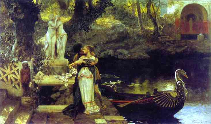 Following The Example Of The Gods 1879 | Henryk Hector Siemiradzki | Oil Painting