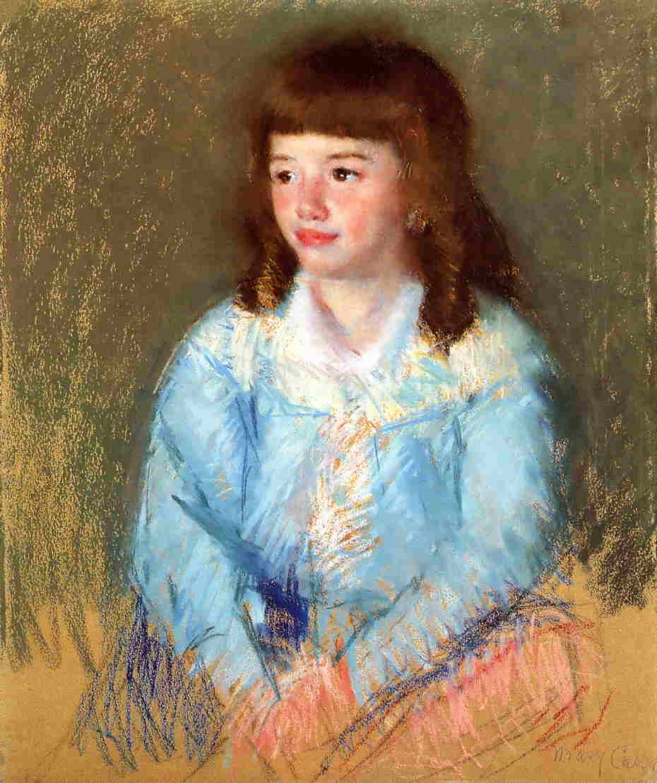 Young Boy in Blue 1906 | Mary Cassatt | Oil Painting