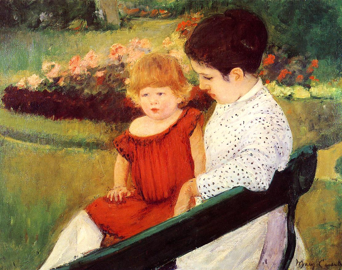 In the Park 1894 | Mary Cassatt | Oil Painting