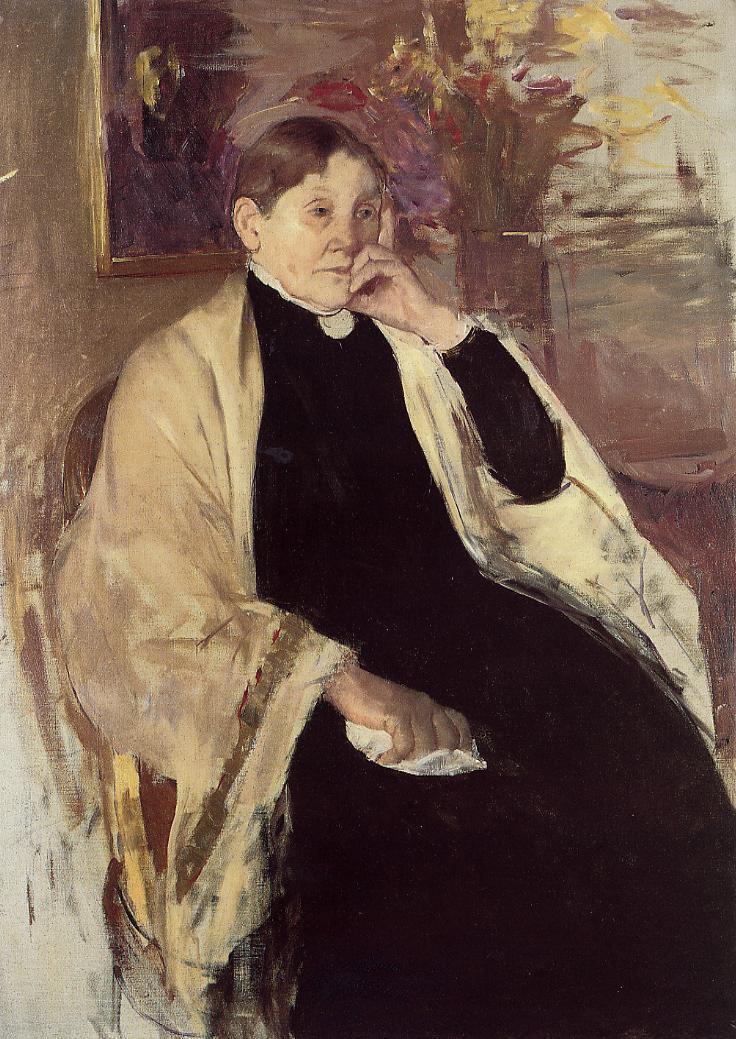 Mrs. Robert S. Cassatt (aka Katherine Kelson Johnston Cassatt) 1889 | Mary Cassatt | Oil Painting