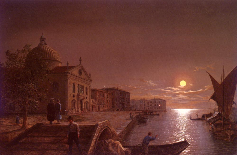 Moonlight in Venice | Henry Pether | Oil Painting