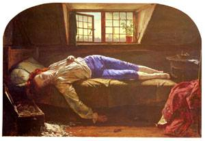 The Death of Chatterton   Henry Wallis   Oil Painting