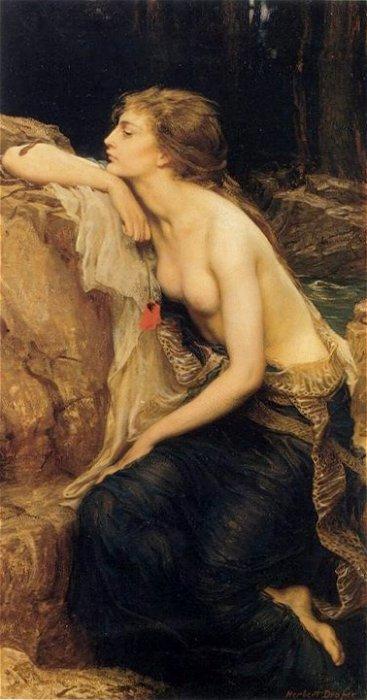 Lamia 1909 | Herbert Draper | Oil Painting