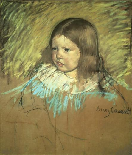 Margaret Milligan Sloan 1893 | Mary Cassatt | Oil Painting