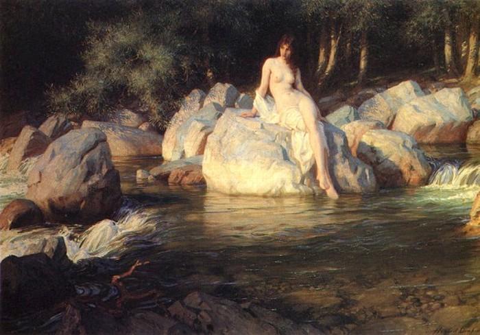 The Kelpie 1913 | Herbert Draper | Oil Painting