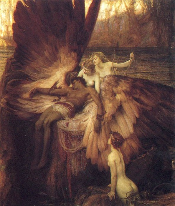 The Lament For Icarus 1898 | Herbert Draper | Oil Painting