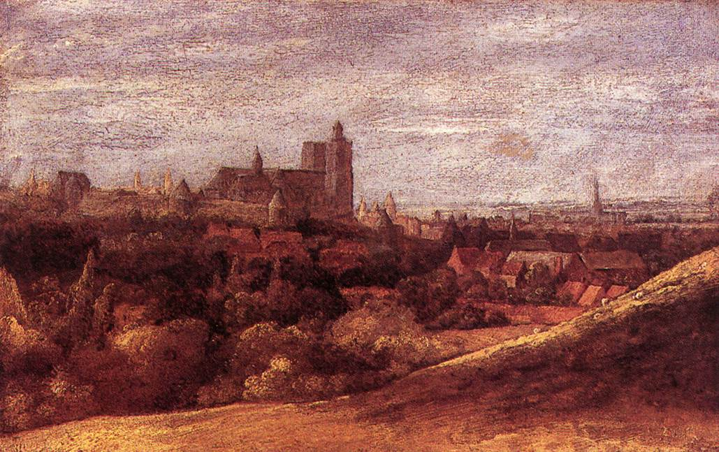 View Of Brussels From The North East 1625 | Hercules Seghers | Oil Painting