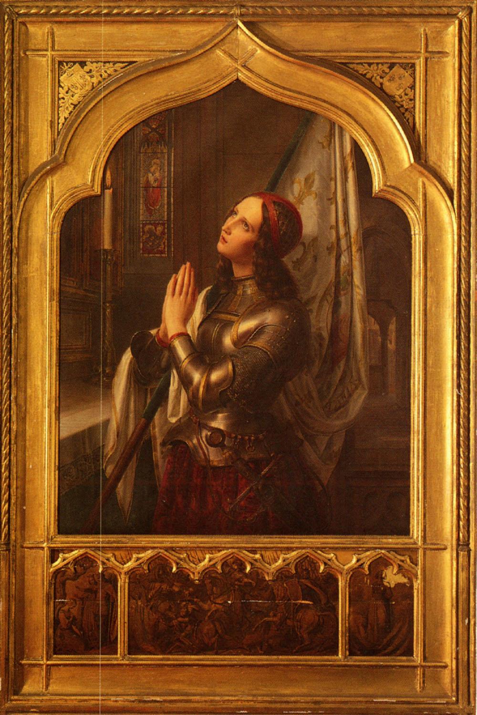 Joan of Arc in Prayer | Hermann Anton Stilke | Oil Painting