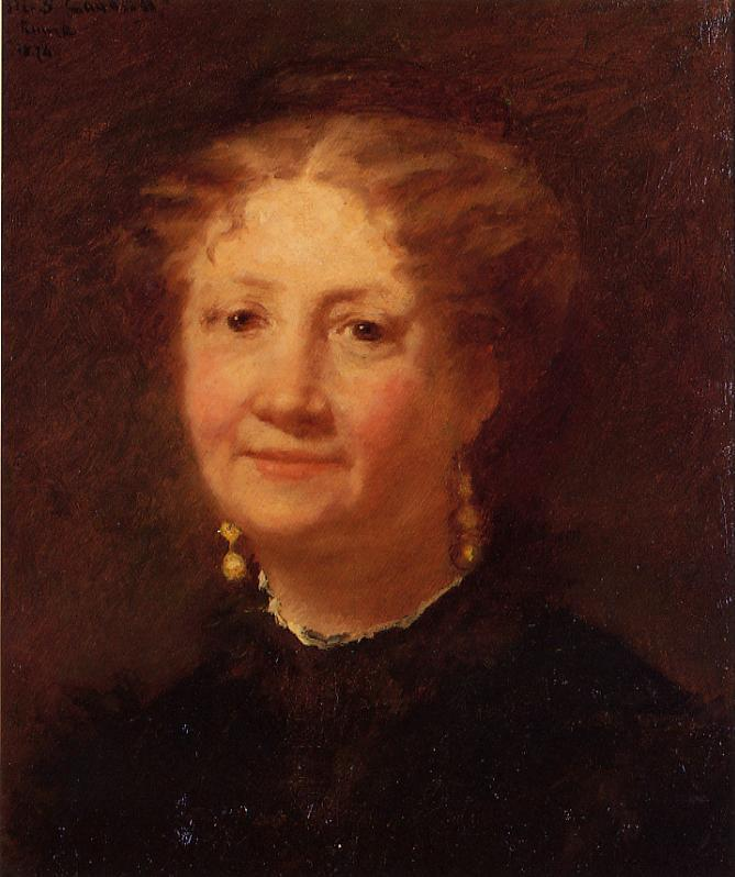 Portrait of Madame Cordier 1874 | Mary Cassatt | Oil Painting