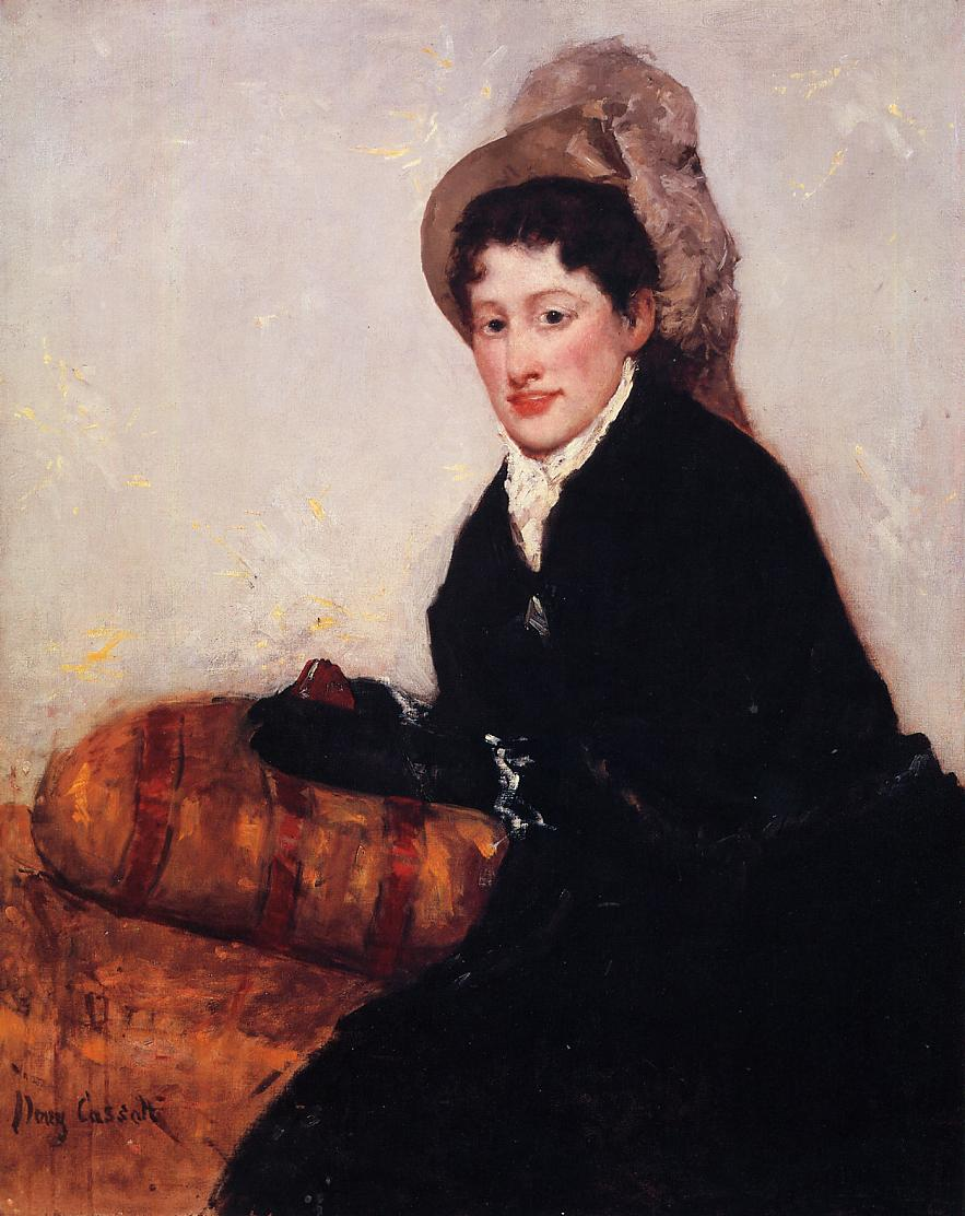 Portrait of Madame X Dressed for the Matinee 1878 | Mary Cassatt | Oil Painting