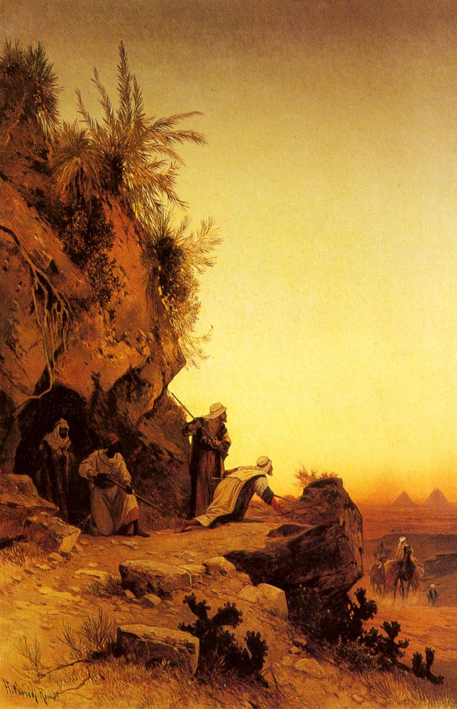 The Ambush | Hermann David Corrodi | Oil Painting