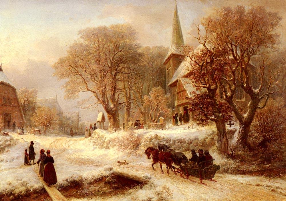 Die Hammer Kirche | Hermann Kauffmann | Oil Painting
