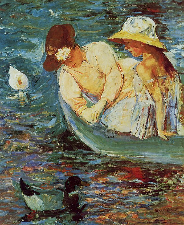 Summertime 1894 | Mary Cassatt | Oil Painting