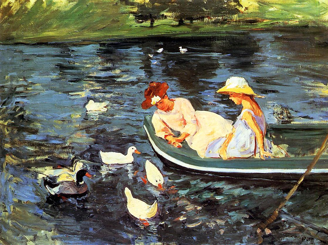 Summertime 1894-2 | Mary Cassatt | Oil Painting