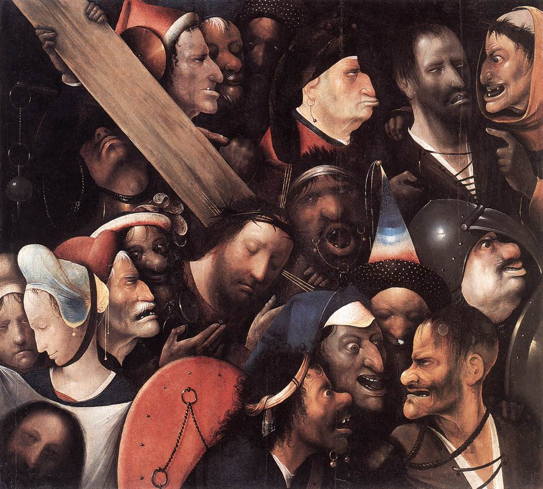 Christ Carrying The Cross 1515-16 | Hieronymus Bosch | Oil Painting