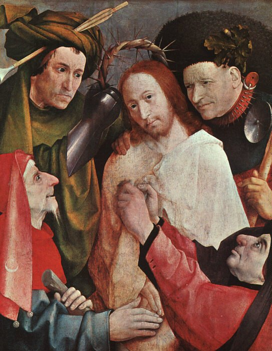 Christ Mocked 1508-09 | Hieronymus Bosch | Oil Painting