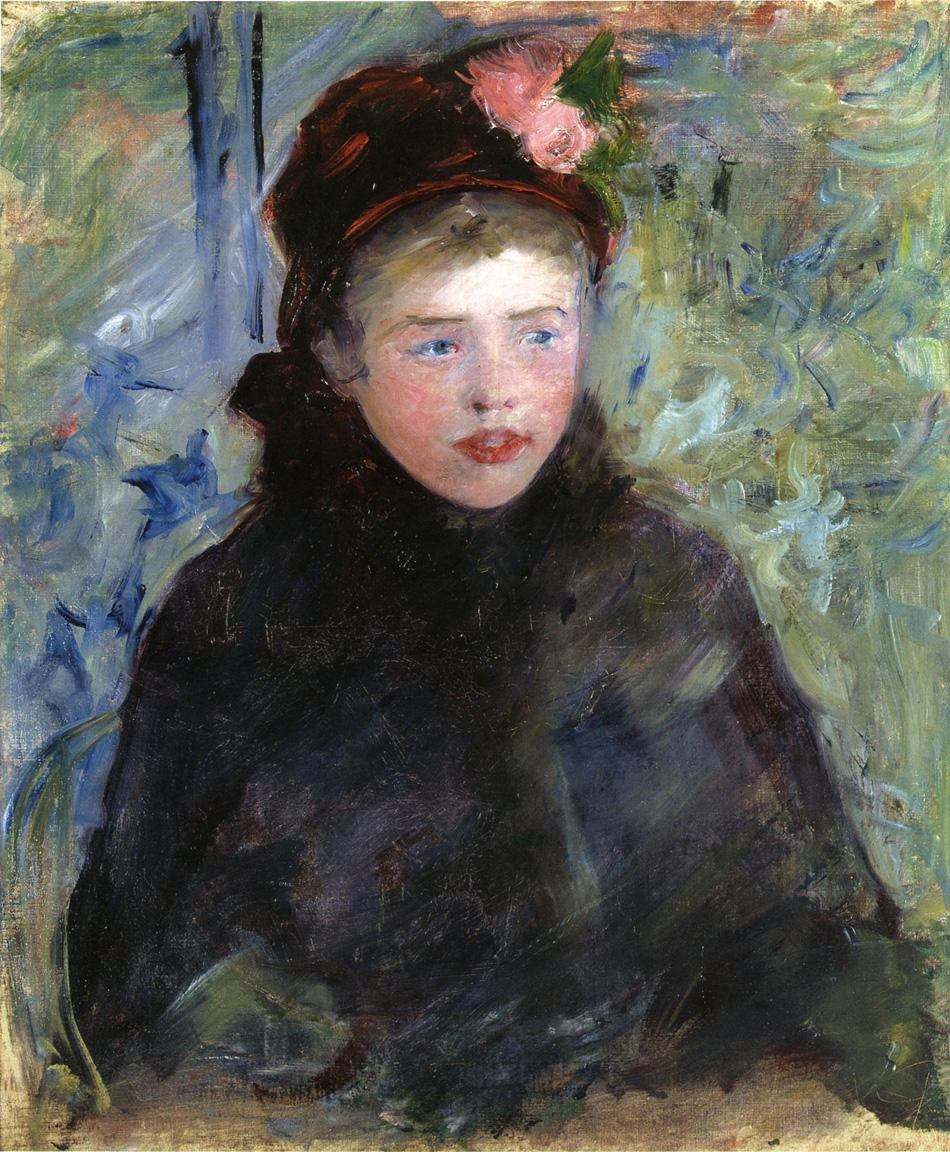 Susan in a Toque Trimmed with Two Roses 1881 | Mary Cassatt | Oil Painting