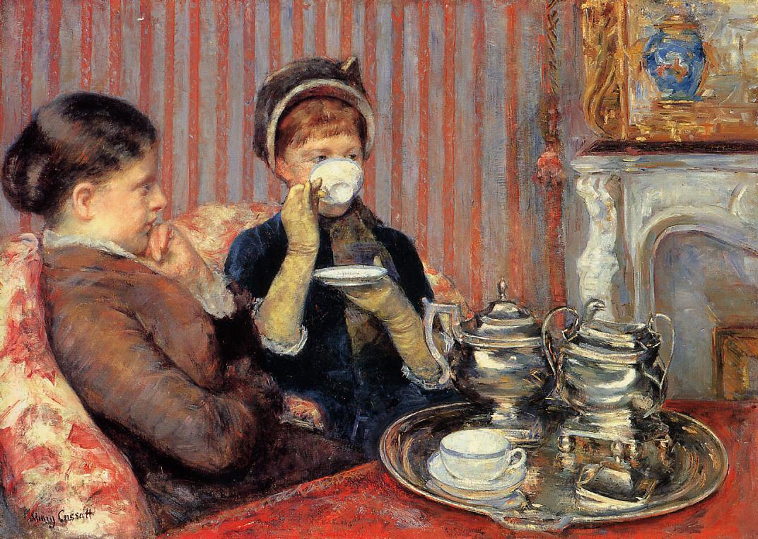 Tea 1879-1880 | Mary Cassatt | Oil Painting