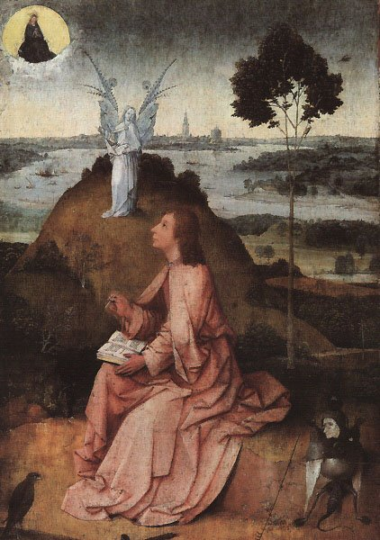 St John On Patmos 1504-05 | Hieronymus Bosch | Oil Painting