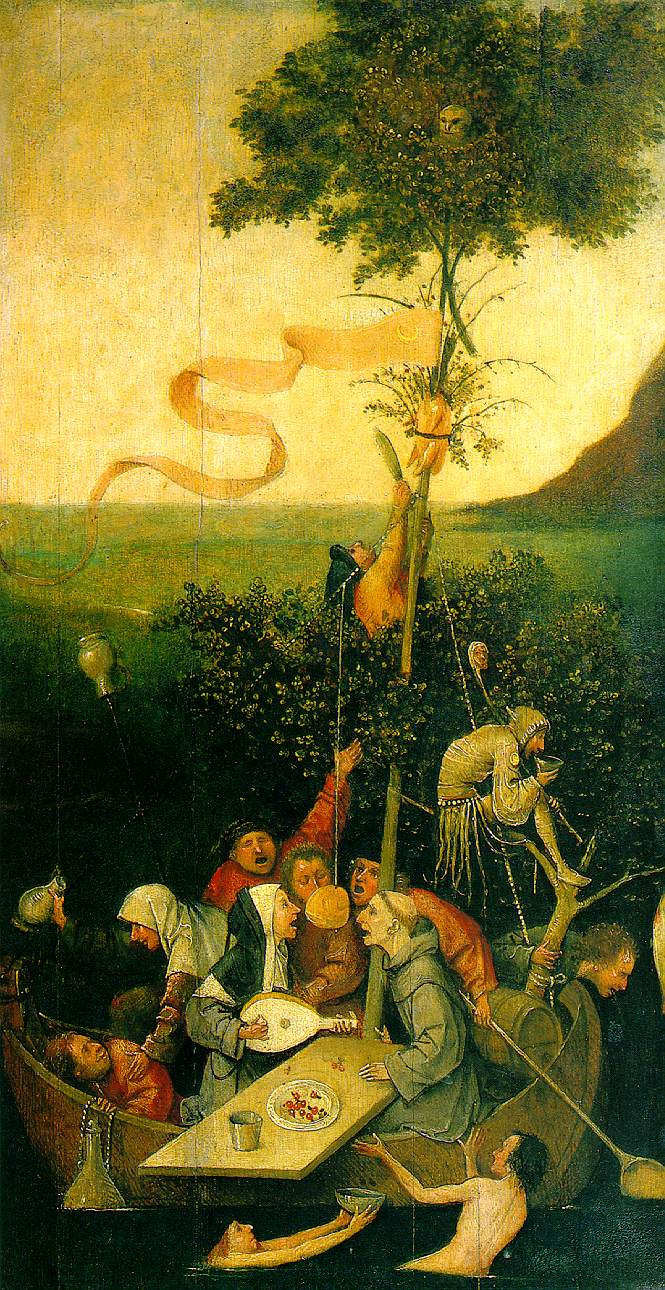 The Ship Of Fools 1490-1500 | Hieronymus Bosch | Oil Painting