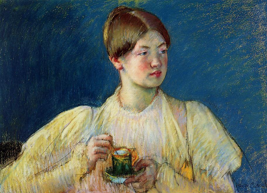 The Cup of Tea 1897 | Mary Cassatt | Oil Painting