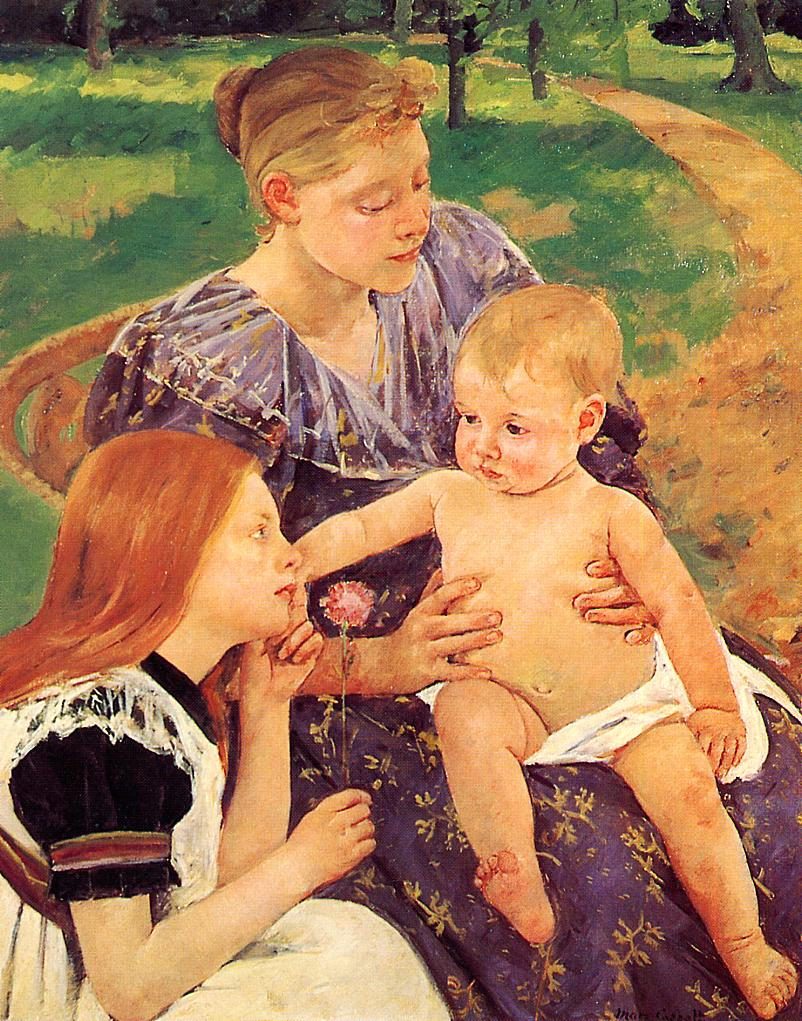The Family 1893 | Mary Cassatt | Oil Painting