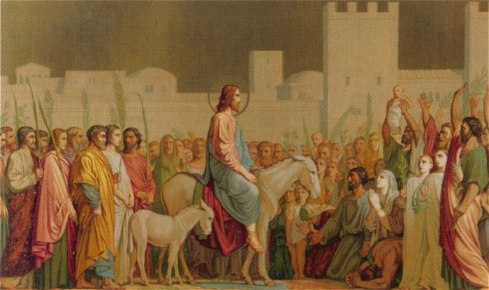 Jesus Riding Into Jerusalem | Hippolyte Flandrin | Oil Painting