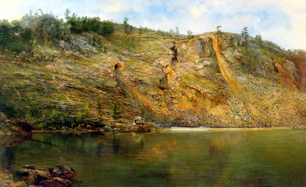 The Iron Mine | Home Dodge Martin | Oil Painting