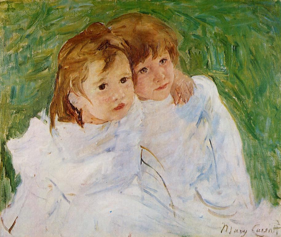 The Sisters 1885 | Mary Cassatt | Oil Painting