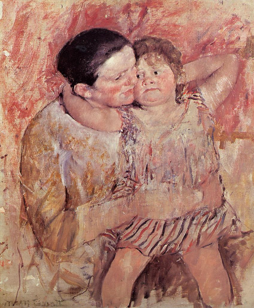 Woman and Child 1887-1888 | Mary Cassatt | Oil Painting