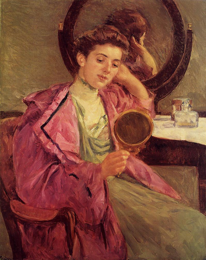 Woman at Her Toilette 1909 | Mary Cassatt | Oil Painting