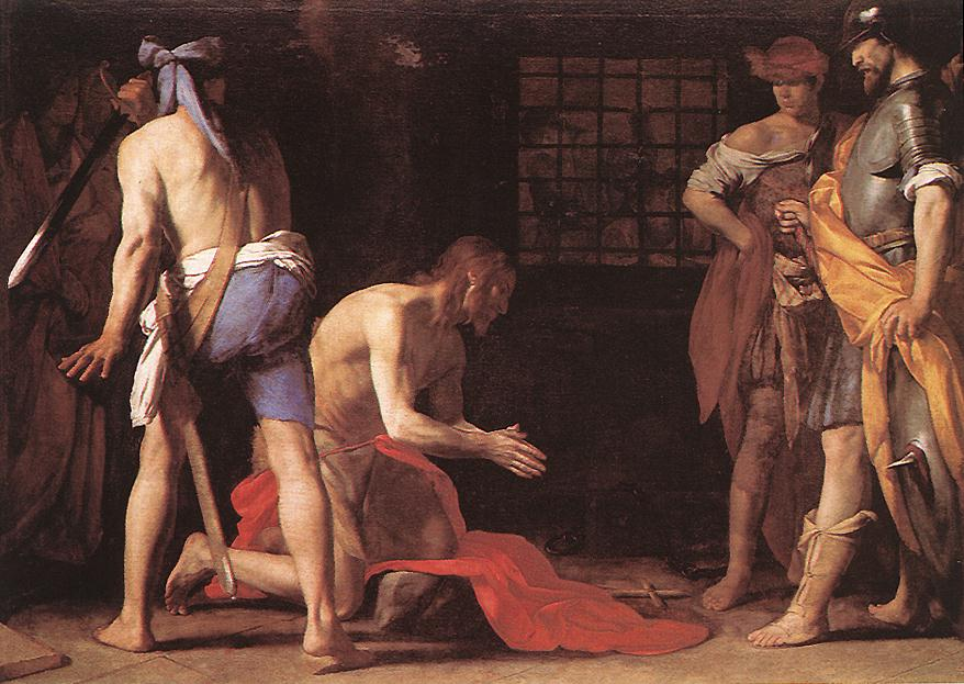 Beheading Of St John The Baptist 1634 | Massimo Stanzione | Oil Painting