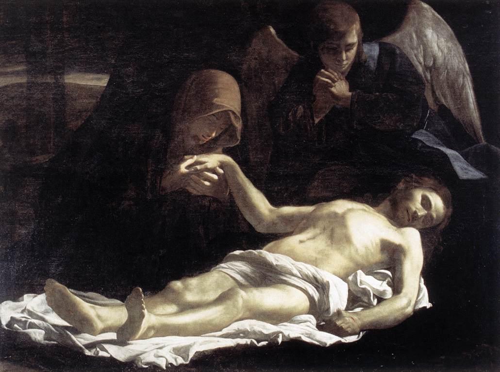 Pieta 1621-25 | Massimo Stanzione | Oil Painting