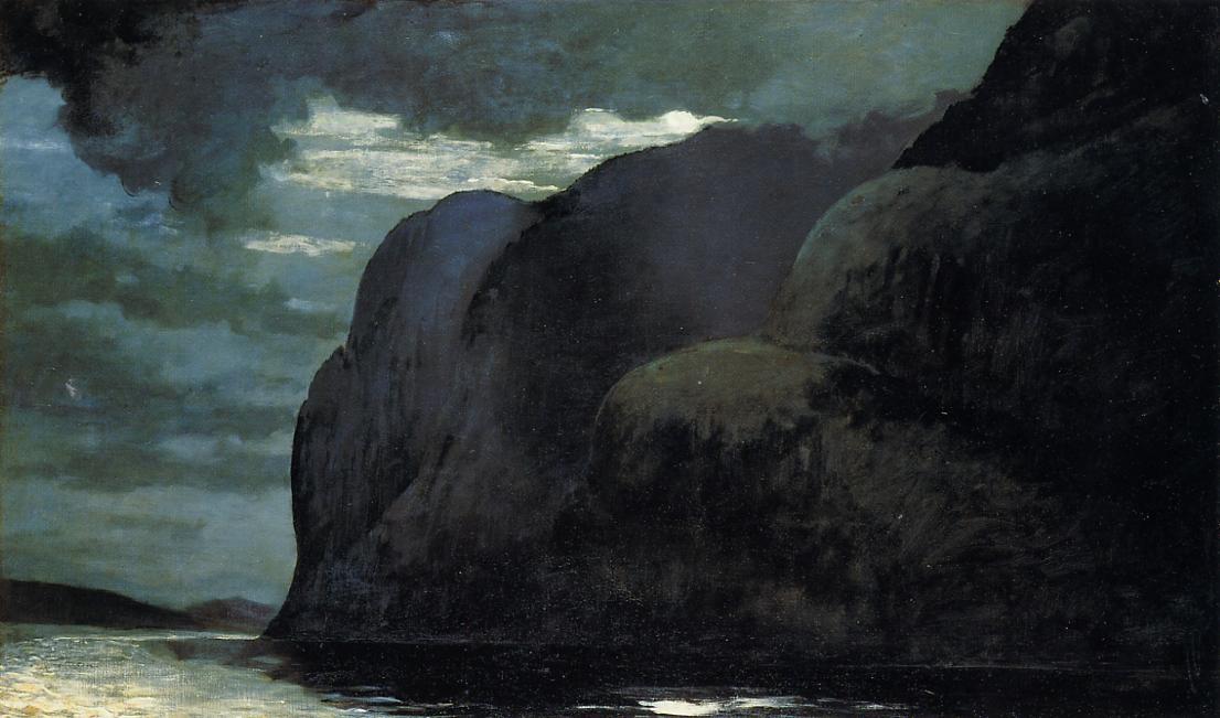 Cape Trinity Saguenay River 1904-1909 | Homer Winslow | Oil Painting