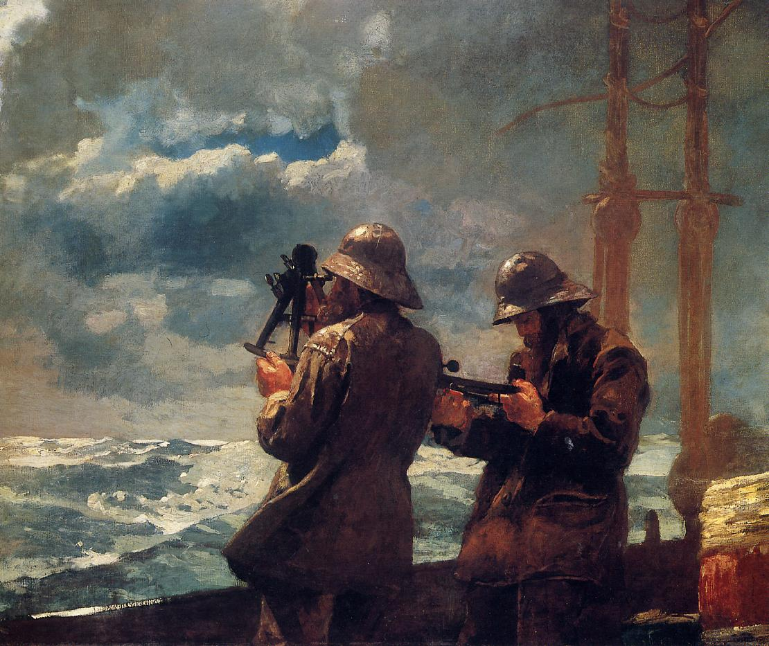 Eight Bells 1886 | Homer Winslow | Oil Painting