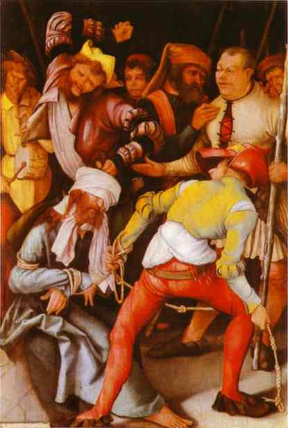 The Mocking Of Christ 1503 | Matthias Grunewald | Oil Painting