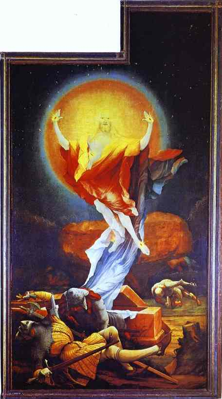 The Resurrection (From the Second View With the Open Wings) | Matthias Grunewald | Oil Painting