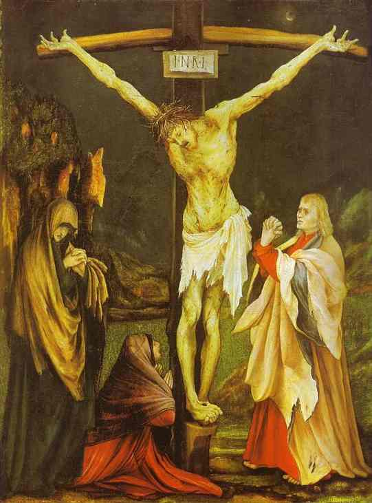 The Small Crucifixion 1510 | Matthias Grunewald | Oil Painting
