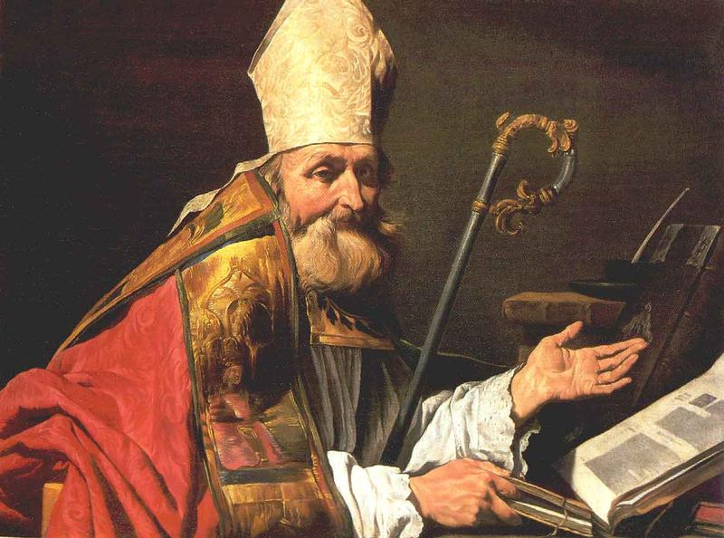 St Ambrose | Matthias Stom | Oil Painting