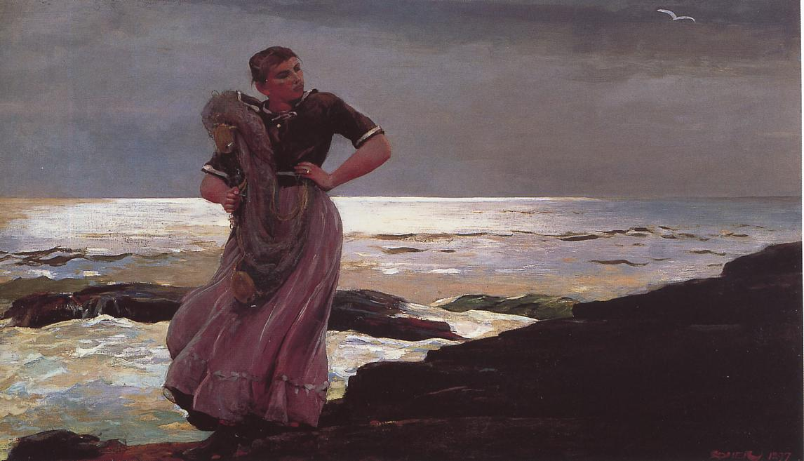 Light on the Sea 1897 | Homer Winslow | Oil Painting