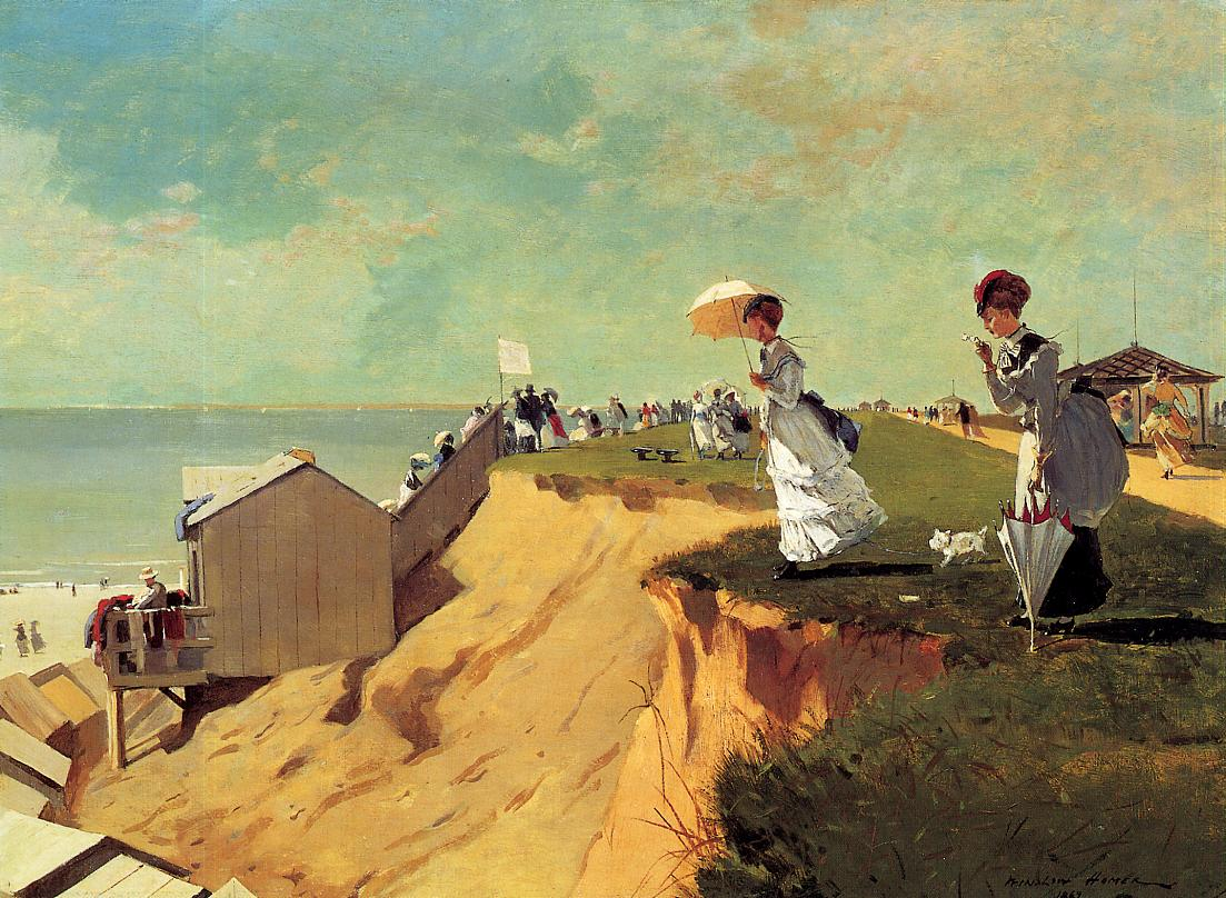 Long Branch New Jersey 1869 | Homer Winslow | Oil Painting