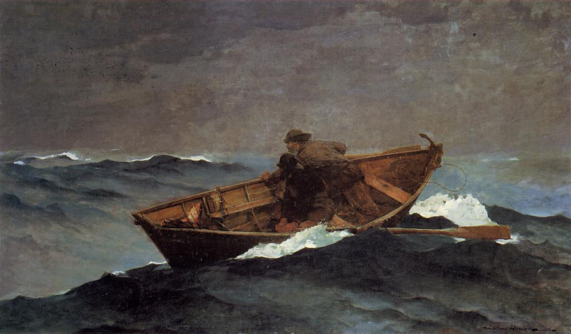Lost on the Grand Banks 1885 | Homer Winslow | Oil Painting