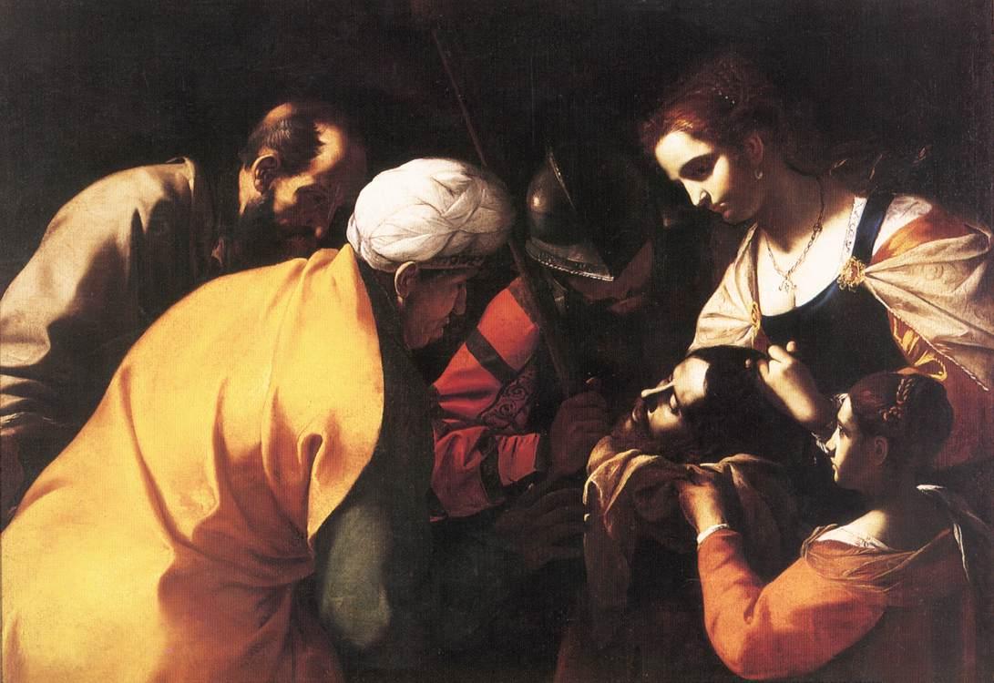 Salome With The Head Of St John The Baptist   Mattia Preti   Oil Painting