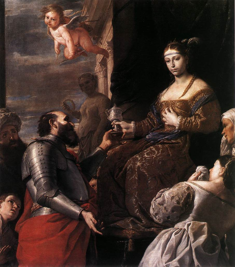 Sophonisba Receiving The Goblet 1670 | Mattia Preti | Oil Painting