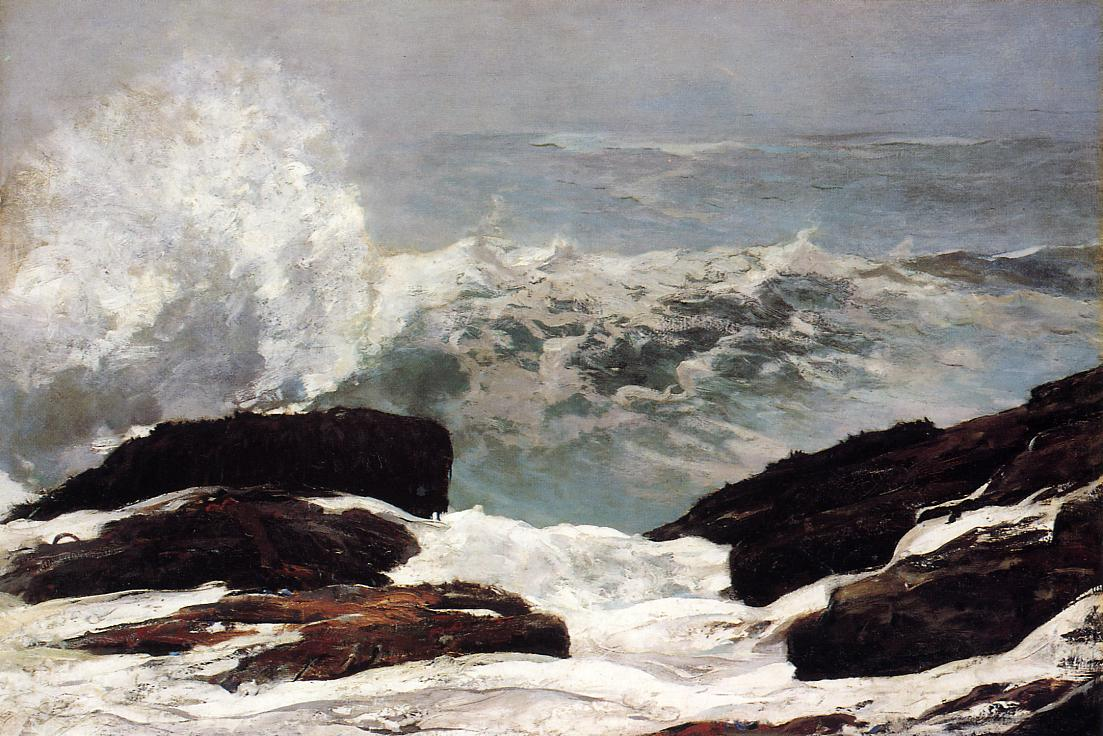 Maine Coast 1896 | Homer Winslow | Oil Painting