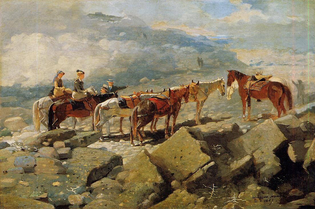 Mount Washington 1869 | Homer Winslow | Oil Painting