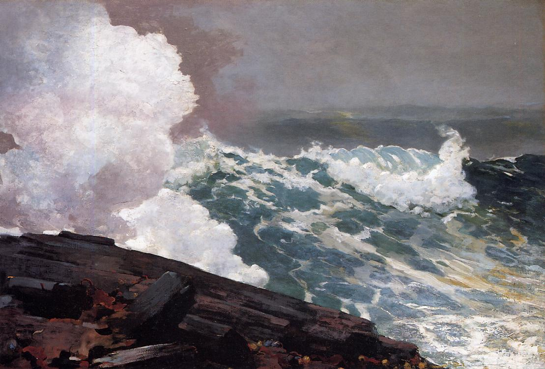 Northeaster 1895 | Homer Winslow | Oil Painting