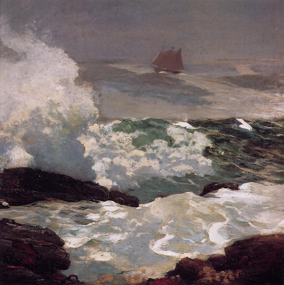 On a Lee Shore 1900 | Homer Winslow | Oil Painting